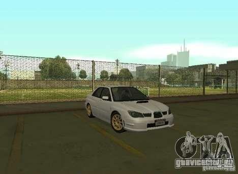 Subaru Impreza WRX STI-Street Racing для GTA San Andreas вид слева