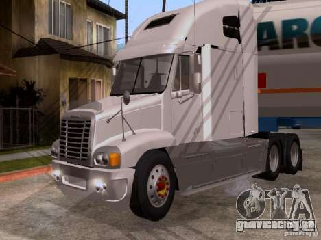 Freightliner Century для GTA San Andreas вид слева
