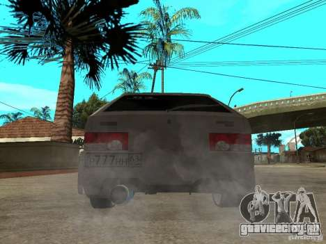 ВАЗ 2109 Tuning для GTA San Andreas вид сзади слева