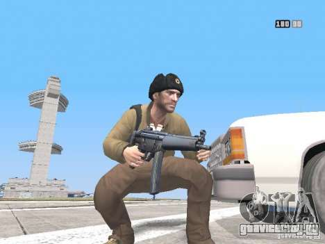 HQ Weapons pack V2.0 для GTA San Andreas десятый скриншот