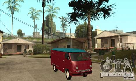 ЕРАЗ 762 В для GTA San Andreas вид изнутри