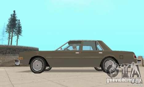 Dodge Diplomat 1985 v2.0 для GTA San Andreas вид справа