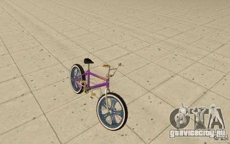 Spin Wheel BMX v1 для GTA San Andreas