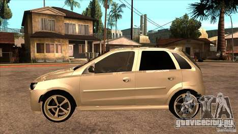 Opel Corsa Tuning Edition для GTA San Andreas вид слева