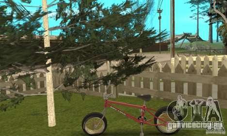 BMX Long 2 для GTA San Andreas вид справа