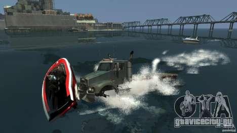 Biff boat для GTA 4 вид справа