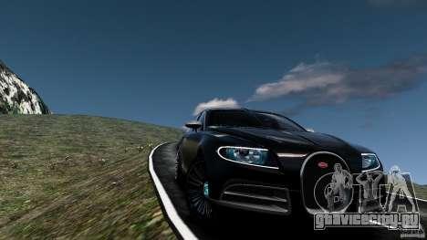 Bugatti Galibier 2009 для GTA 4 двигатель