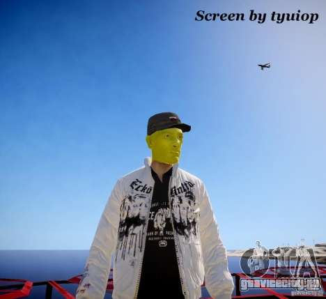 Niko The Mask для GTA 4