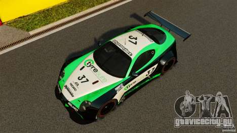 Alfa Romeo 8C Competizione Body Kit 2 для GTA 4 вид сверху