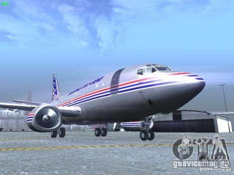 Boeing 737-500 для GTA San Andreas