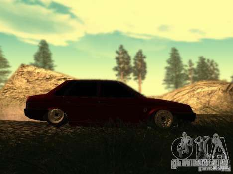 Ваз 21099 Ferrari для GTA San Andreas вид справа