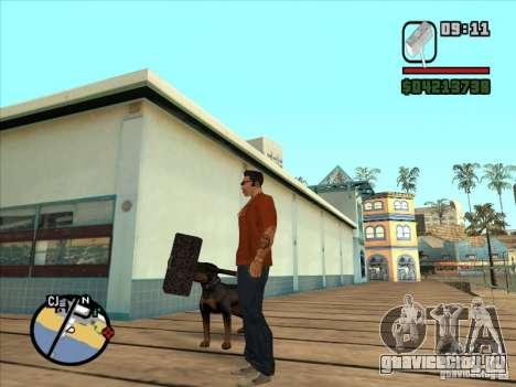Молот WarCraft III для GTA San Andreas третий скриншот