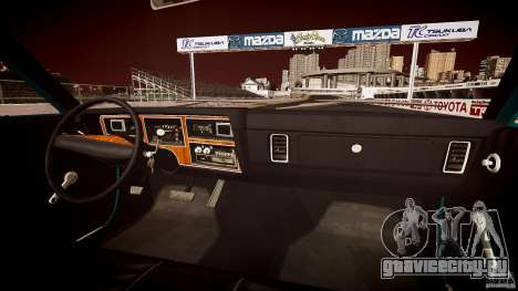 Dodge Aspen v1.1 1979 yellow rear turn signals для GTA 4 вид снизу
