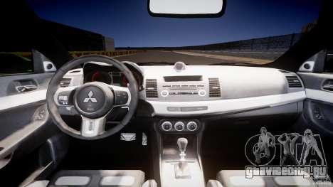 Mitsubishi Lancer Evolution X Tuning для GTA 4 вид справа