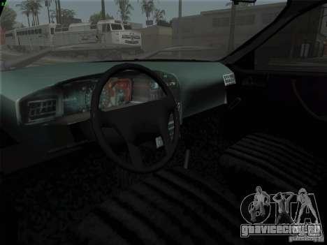 Dacia 1310 L Sport для GTA San Andreas вид сзади
