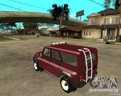 УАЗ 3159 Hunter (Хантер) для GTA San Andreas вид слева
