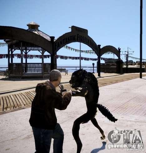 Werewolf from Skyrim для GTA 4 четвёртый скриншот