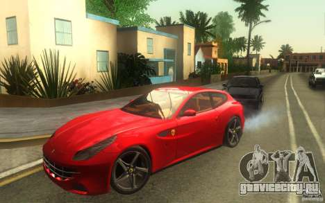 Ferrari FF для GTA San Andreas вид сзади слева