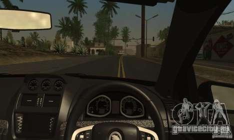 Holden HSV GTS для GTA San Andreas вид сбоку