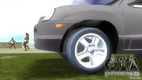 Hyundai Sante Fe для GTA Vice City вид сзади слева