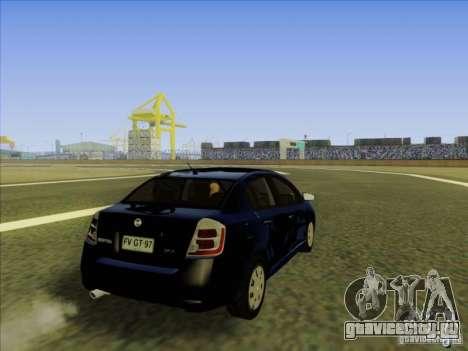 Nissan Sentra 2012 для GTA San Andreas вид сбоку