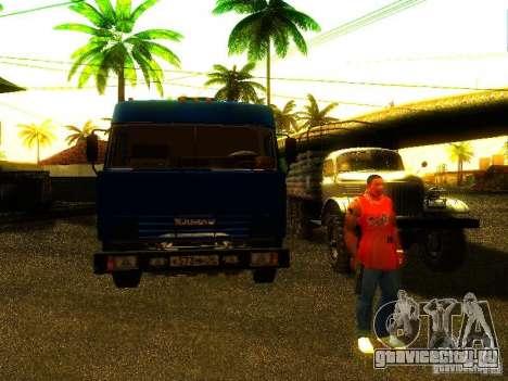 КамАЗ 53215 для GTA San Andreas вид сзади