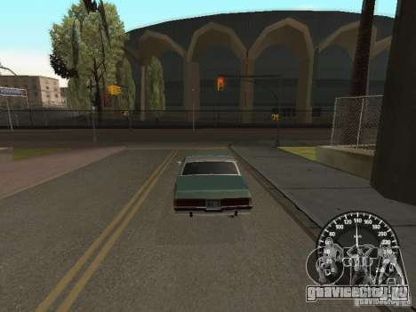 Спидометр Audi для GTA San Andreas второй скриншот