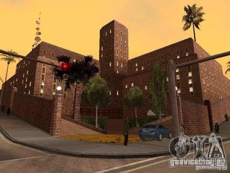 Новые текстуры госпиталя в Лос Сантосе для GTA San Andreas