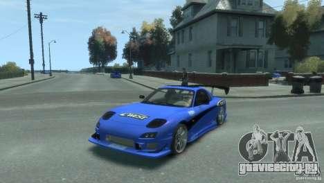 Mazda Rx7 C-WEST для GTA 4