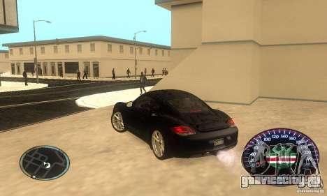 Chechen Speedometr для GTA San Andreas