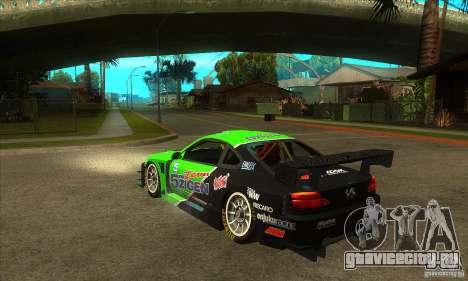 Nissan Silvia S15 - GT для GTA San Andreas вид сзади слева