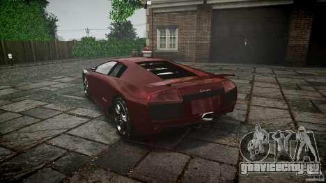 Lamborghini Murcielago v1.0b для GTA 4 вид сбоку