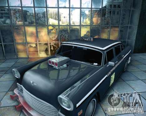 Diablo Cabbie HD для GTA San Andreas вид справа