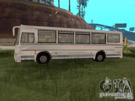 ПАЗ 4230 Аврора для GTA San Andreas вид сзади слева