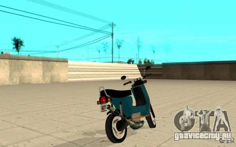 Simson SR50 tuned Big Bore 3 для GTA San Andreas