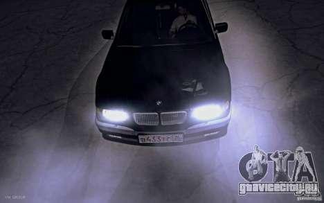 BMW 750i E38 2001 для GTA San Andreas вид справа