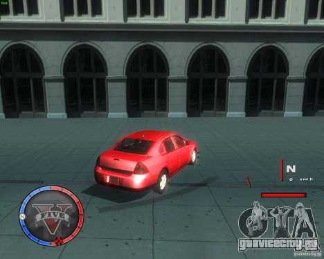 Chevrolet Impala 2008 для GTA San Andreas вид сзади слева