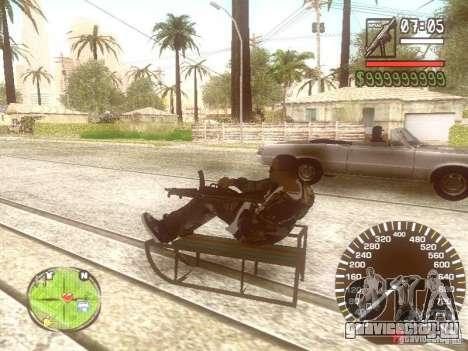 Сани для GTA San Andreas двигатель