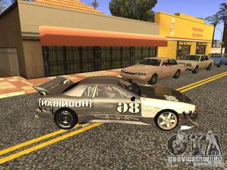 Elegy Drift Korch v2.1 для GTA San Andreas вид сзади