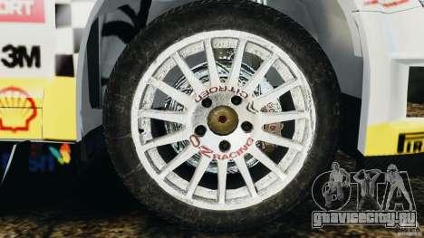 Citroen C4 WRC для GTA 4 вид сзади