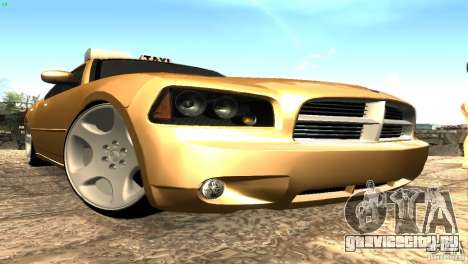 Dodge Charger SRT8 Re-Upload для GTA San Andreas вид слева
