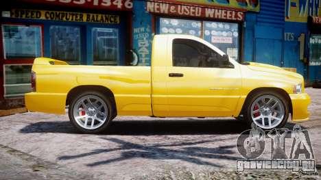 Dodge Ram SRT-10 2003 1.0 для GTA 4 вид слева