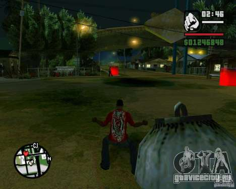 Wrecking ball для GTA San Andreas