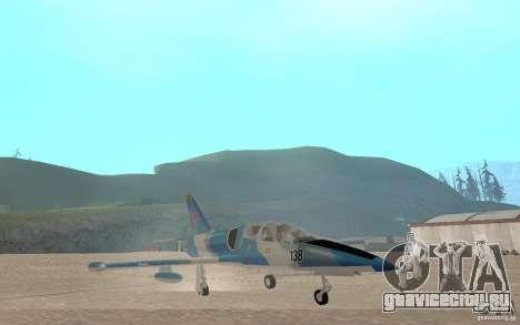 L-39 Albatross для GTA San Andreas вид изнутри
