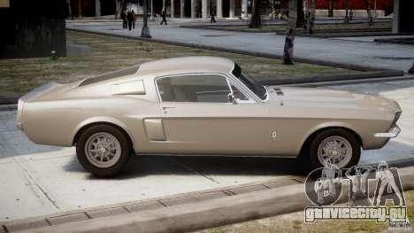 Shelby GT500 1967 для GTA 4 вид сбоку