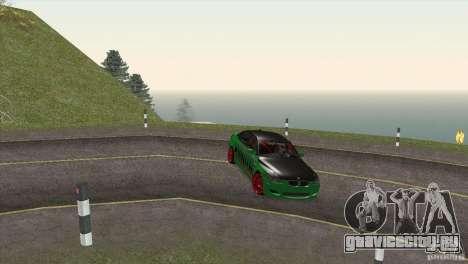 BMW M5 E60 Darius Balys для GTA San Andreas вид снизу