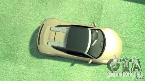 Audi R8 Spyder v10 [EPM] для GTA 4 вид справа