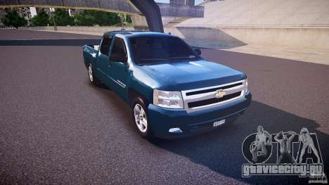 Chevrolet Silverado 1500 v1.3 2008 для GTA 4