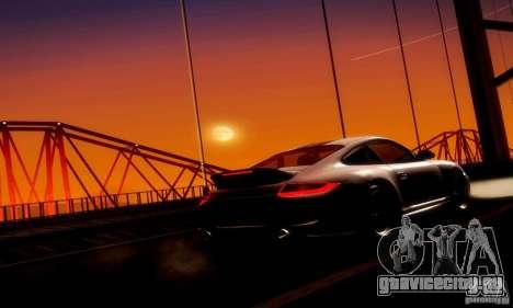Porsche 911 Sport Classic для GTA San Andreas вид изнутри
