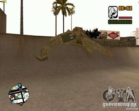 Parkour discipline beta 2 (full update by ACiD) для GTA San Andreas